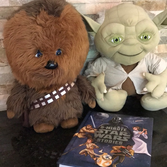 💙STAR WARS large stuffed characters   book 51c1d7c69056
